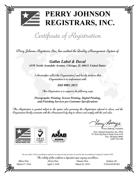 Gallas_Label___Decal_-_ISO_9001_2015_Certificate