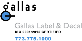 Gallas Label and Decal